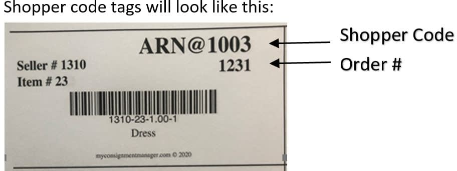 Check in numbered box image