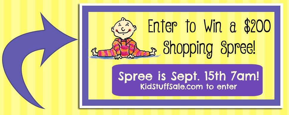 Win a $200 KidStuff Shopping Spree